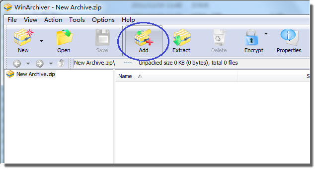 WinArchiver Screenshot