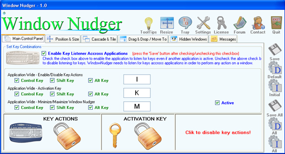 Window Nudger Screenshot