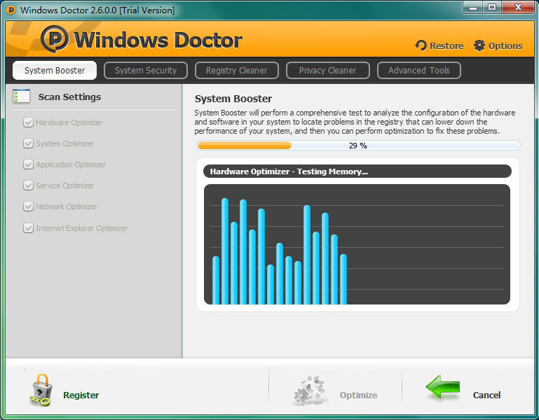 Windows Doctor (Lifetime 3 Computers) Screenshot