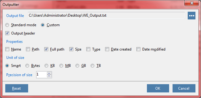 WinExt Batch Operator, Files and Folders Software Screenshot