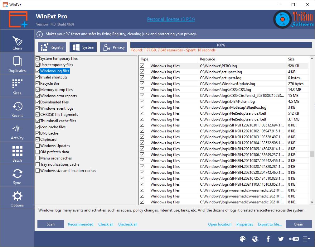 WinExt Pro Screenshot 19