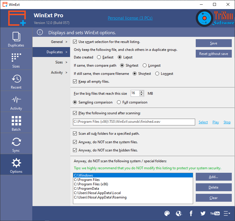 WinExt Pro Screenshot 8
