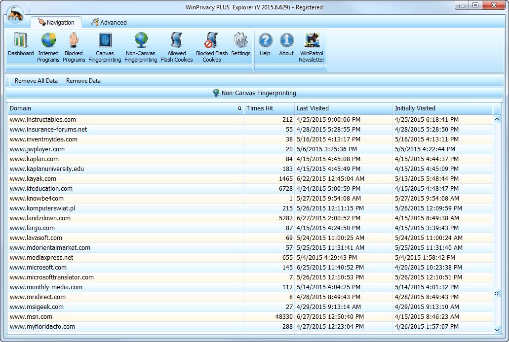 WinPatrol Firewall, Security Software, Internet Security Software Screenshot