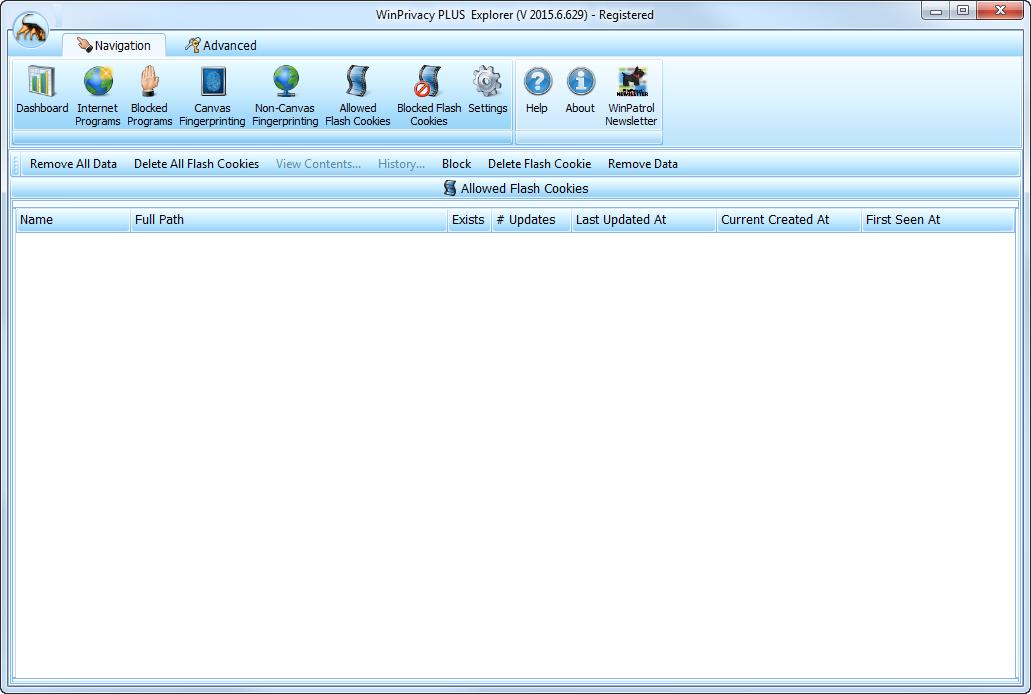WinPatrol Firewall, Security Software Screenshot