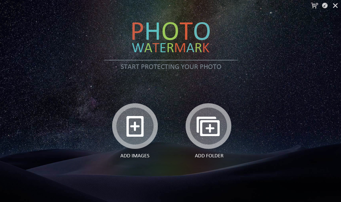WonderFox Photo Watermark Screenshot