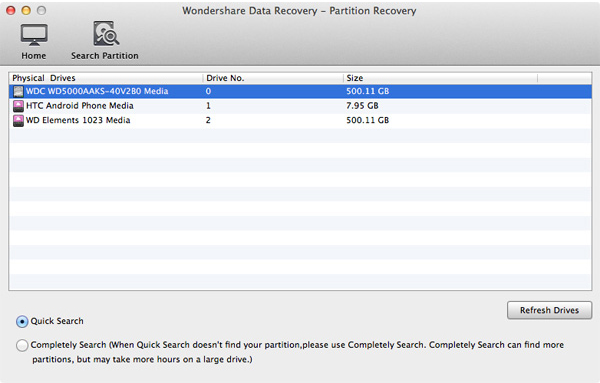 Wondershare Data Recovery for Mac Screenshot 8
