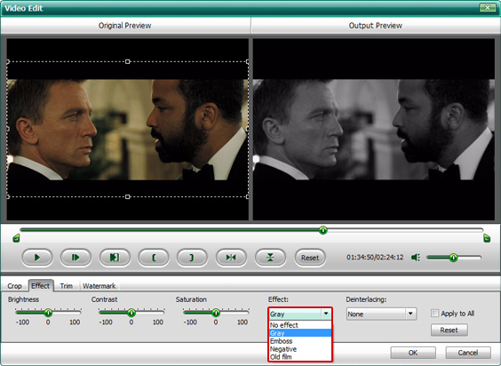 DVD Ripper Software, Wondershare DVD Ripper Platinum Screenshot