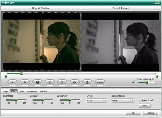 DVD Ripper Software, Wondershare HD Video Converter Screenshot