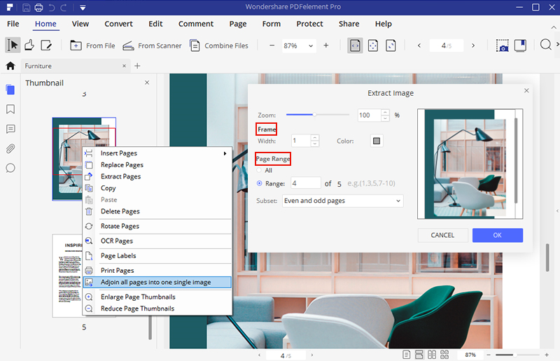Wondershare PDFelement 7, PDF Conversion Software Screenshot