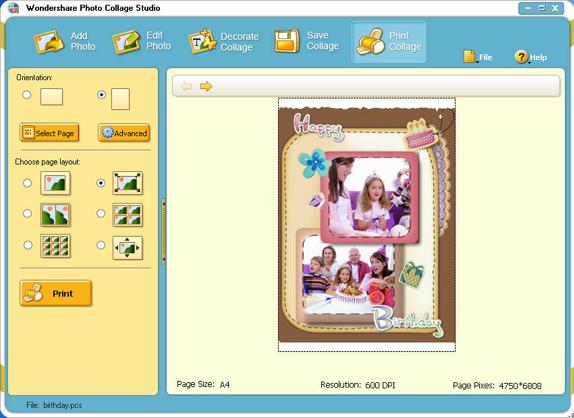 Misc & Fun Graphics Software, Photo Collage Studio ComboPack Screenshot