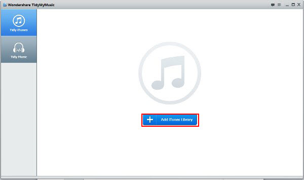 Wondershare TidyMyMusic for Windows Screenshot