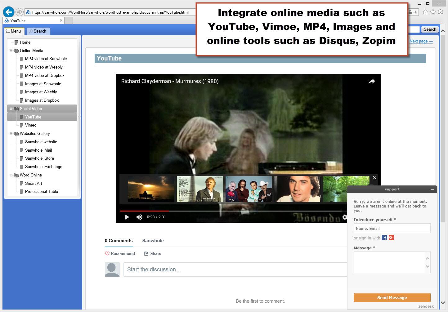 Internet Software, Website Scraping Software Screenshot