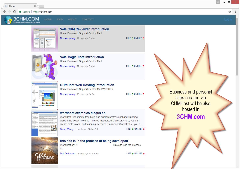 PageShare Web Hosting 10 - 10 websites 1 year web hosting, Website Scraping Software Screenshot