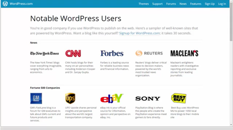 Website Builder Software, Wordpress for Beginners Screenshot