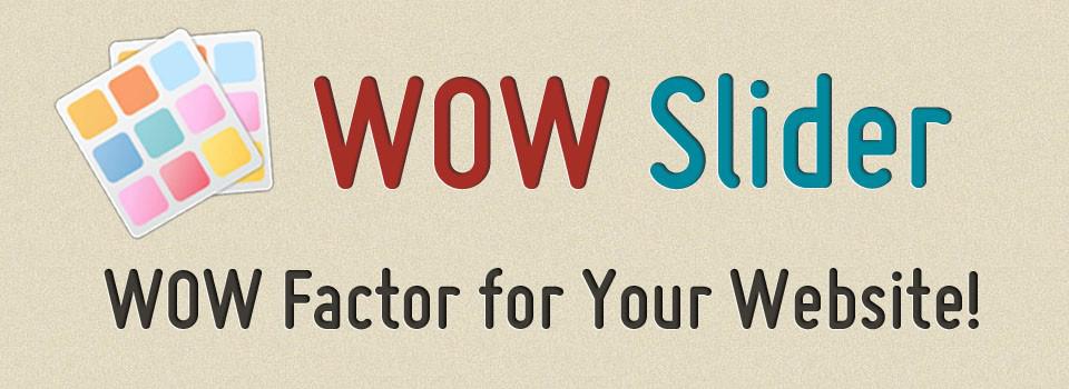 WOW Slider Unlimited Website License Screenshot