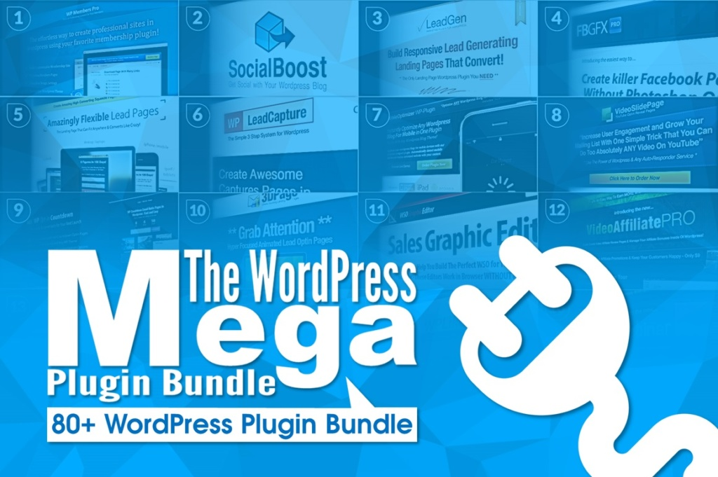 WP Plugin Mega Bundle – 80 Premium plugins Screenshot