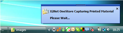 X2Net OneStore, Security Software Screenshot