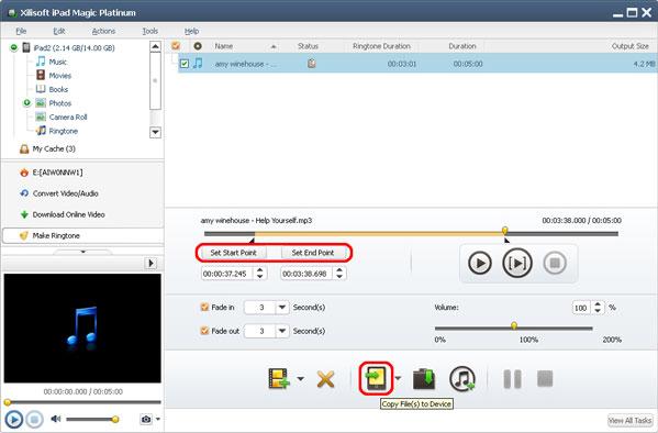 Xilisoft iPad Magic Platinum, iPod iPhone iTunes Software Screenshot