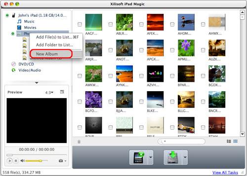 Xilisoft iPad Magic Platinum, Audio Software, iPod iPhone iTunes Software Screenshot
