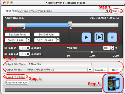 Video Software, Xilisoft iPhone Software Suite for Mac Screenshot