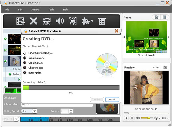 Xilisoft Ripper Pack Platinum, DVD Ripper Software Screenshot