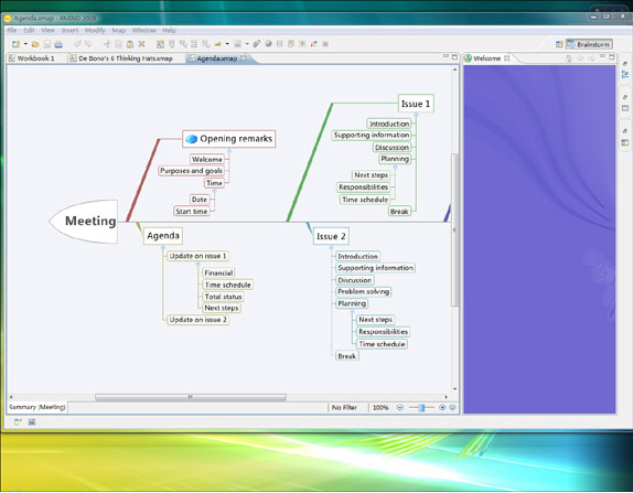 Productivity Software, XMIND Screenshot