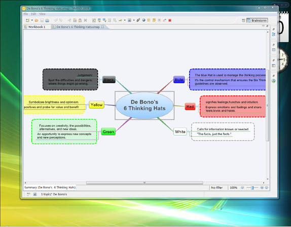 Mind Mapping Software, XMIND Screenshot