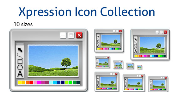 Xpression Icon Collection Screenshot
