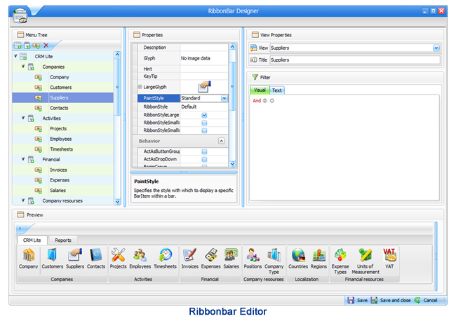 XtraBuild Designer Screenshot
