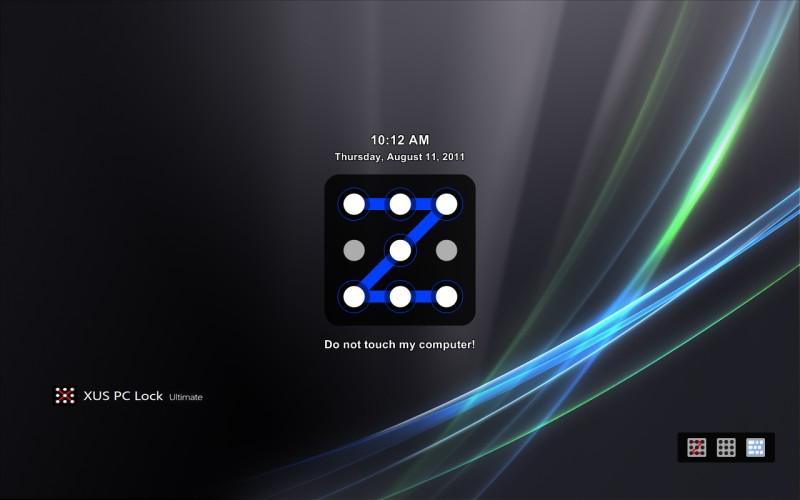 XUS PC Lock Screenshot