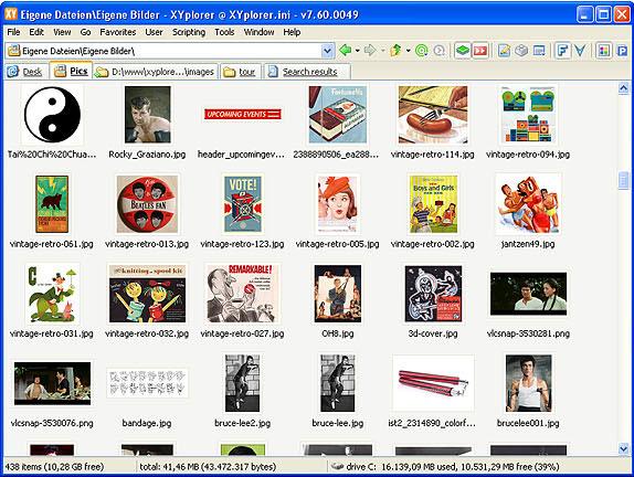 XYplorer, File Management Software Screenshot