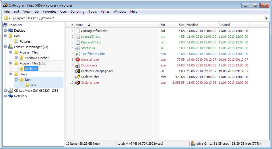 XYplorer Lifetime License Pro Screenshot 8