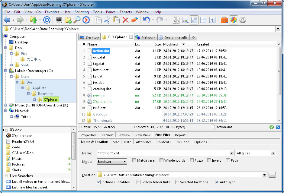 XYplorer Lifetime License Pro Screenshot 14