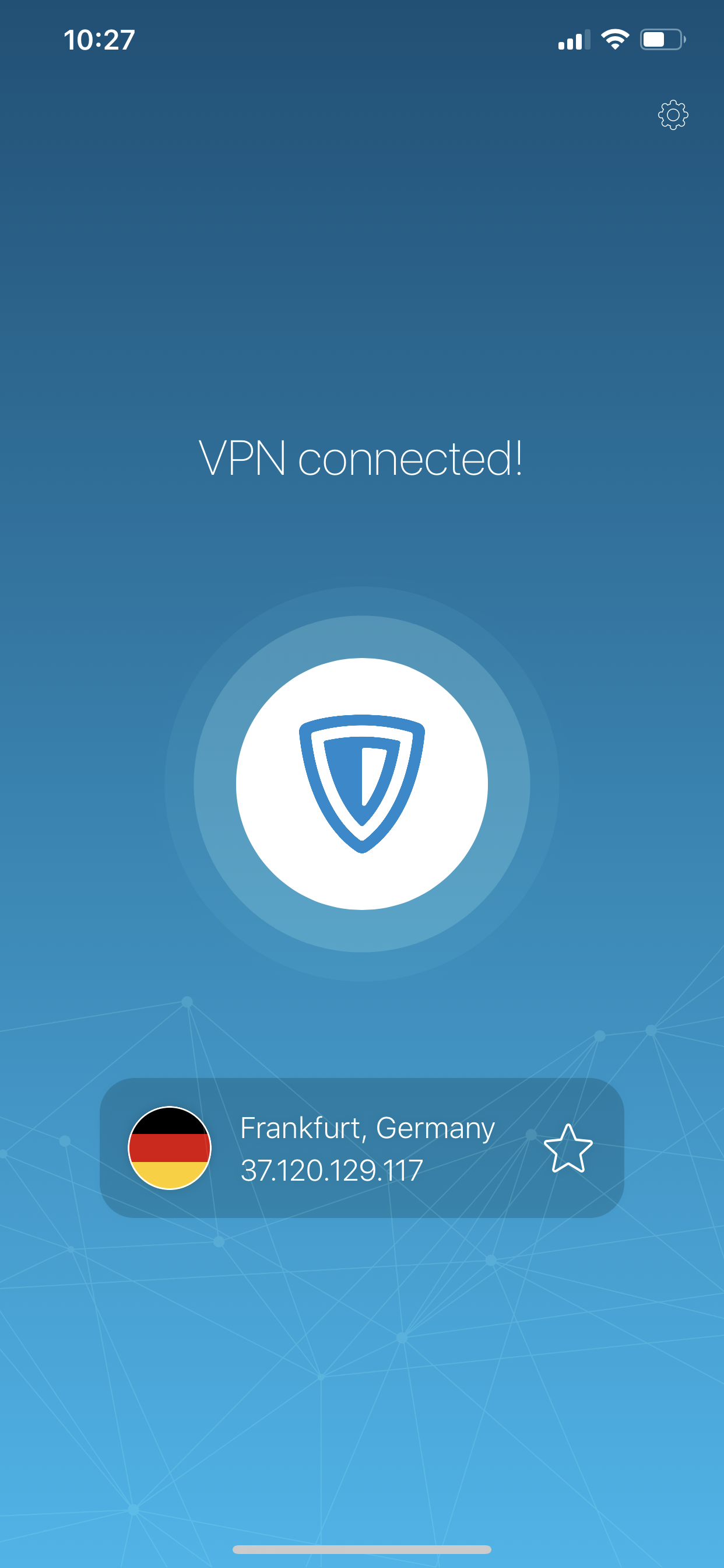 ZenMate VPN Screenshot