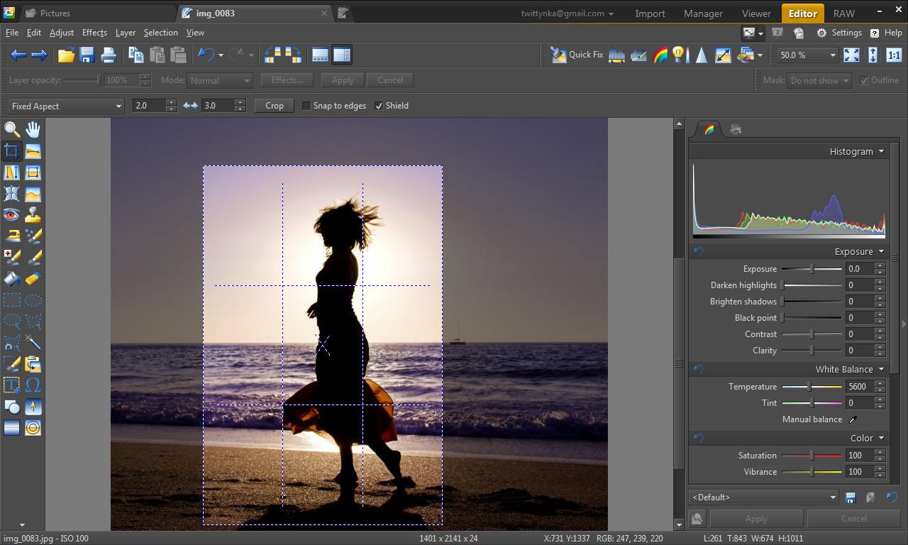 Image Viewer Software, Zoner Photo Studio 15 Home Screenshot