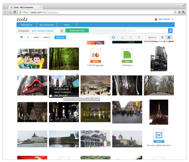 Security Software, Backup Cloud Software Screenshot
