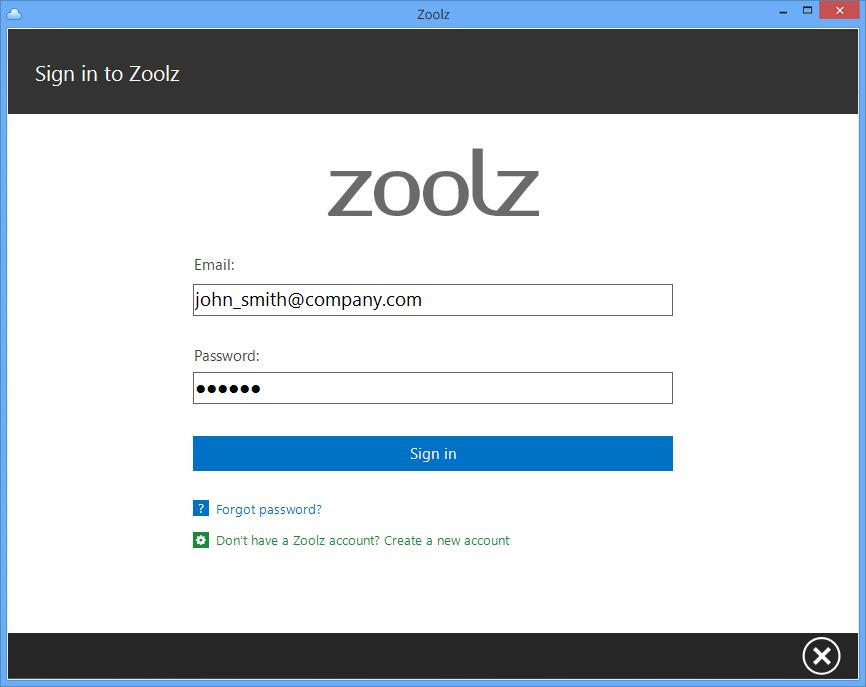 Zoolz Home 3TB Lifetime Screenshot