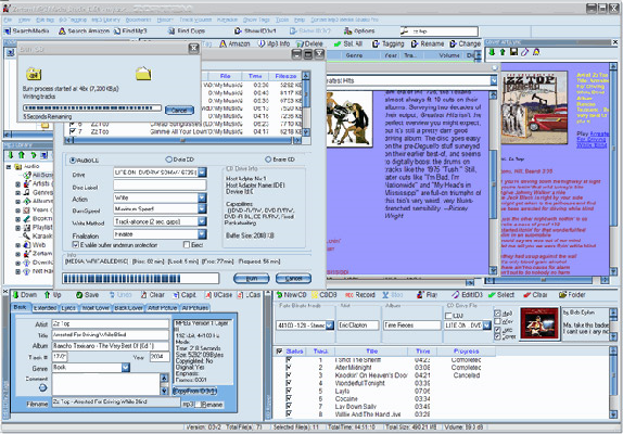 Zortam Mp3 Media Studio Pro, Audio Software Screenshot
